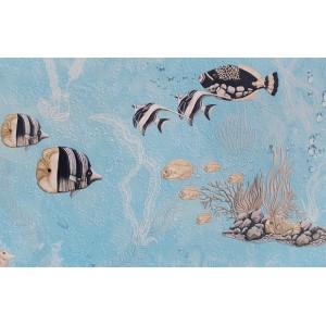 92101 Elysium (Элизиум) Подводный мир - голубые