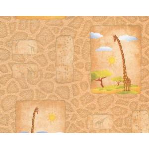 10С2ГР Гомельобои Жираф - оранжевые