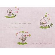 6366-06 В27.4 Славянские обои Бэби - розовые