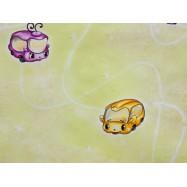6367-05 В27.4 Славянские обои Бусик - желтые