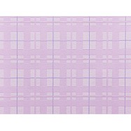 C751-06 В53.4 Славянские обои Котята - фиолетовые